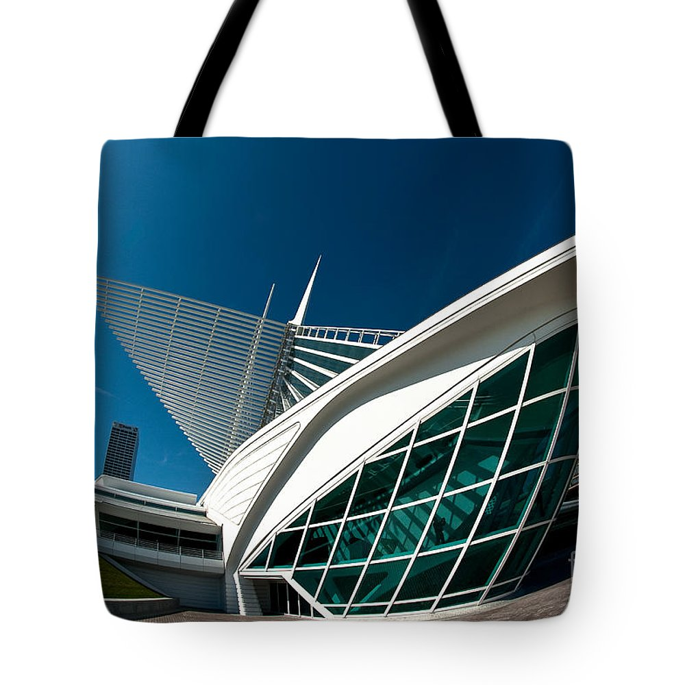 Milwaukee Tote Bag featuring the photograph Mam Angle by Steven Dunn
