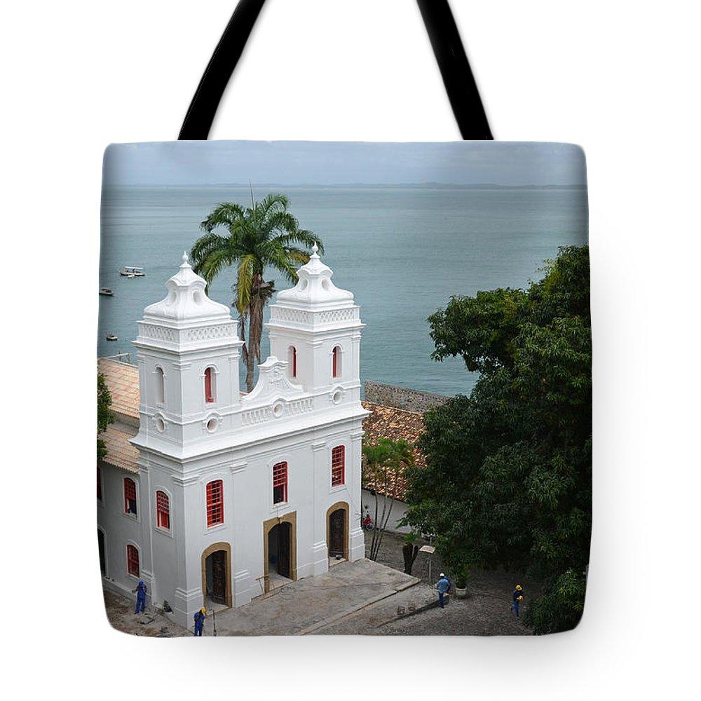Mam Tote Bag featuring the photograph Mam Salvador Da Bahia - Brazil by Ralf Broskvar