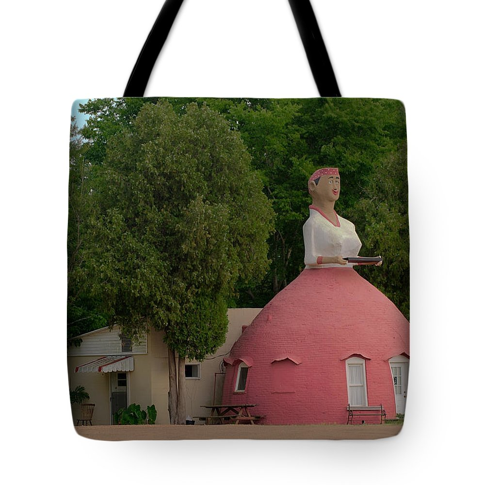 Folk Architecture Tote Bag featuring the photograph Mammy's Cupboard by Grant Groberg