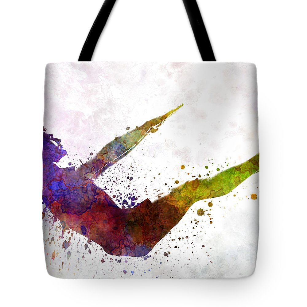 Relaxation Paintings Tote Bags