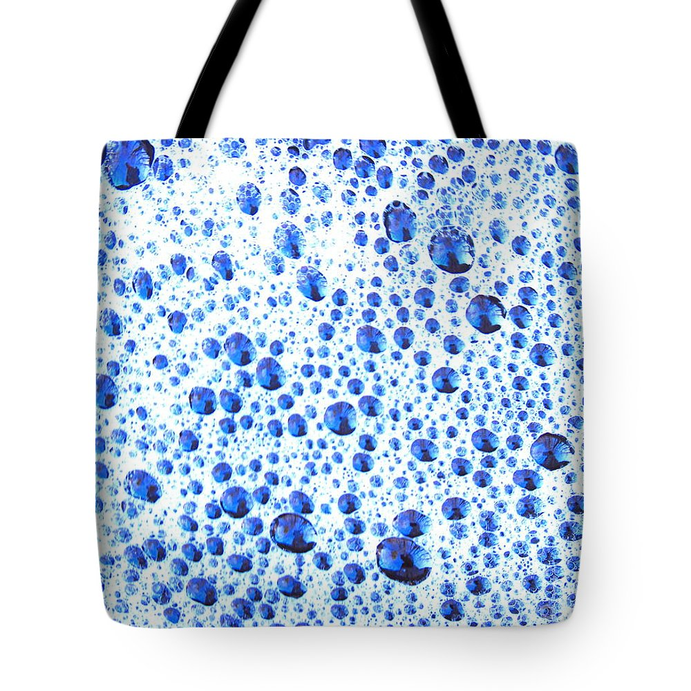 Water Tote Bag featuring the photograph One In The Bubble-all The Same by Sybil Staples