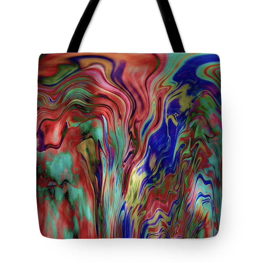 Abstract Tote Bag featuring the photograph Mandolin Rain 2 by Elizabeth Tillar