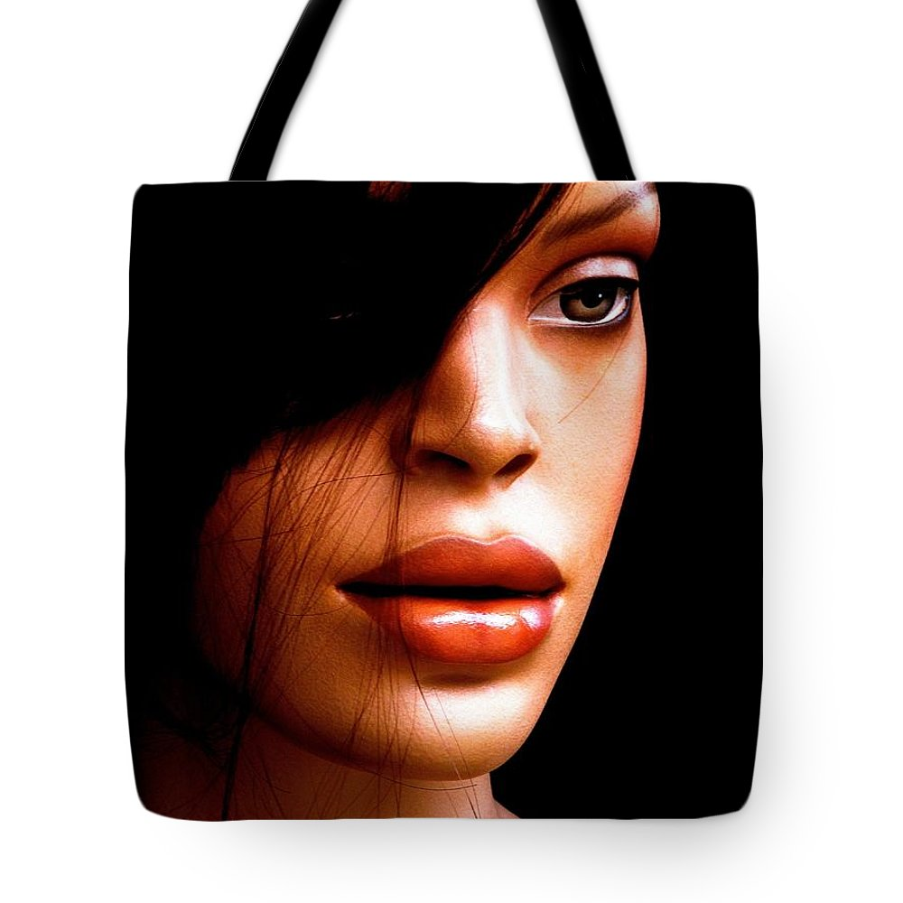 Portrait Tote Bag featuring the photograph Mocha Velvet by Andre Brown
