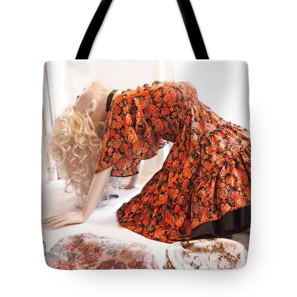 Mannequin91 Tote Bag featuring the photograph Mannequin 91 by David Hare