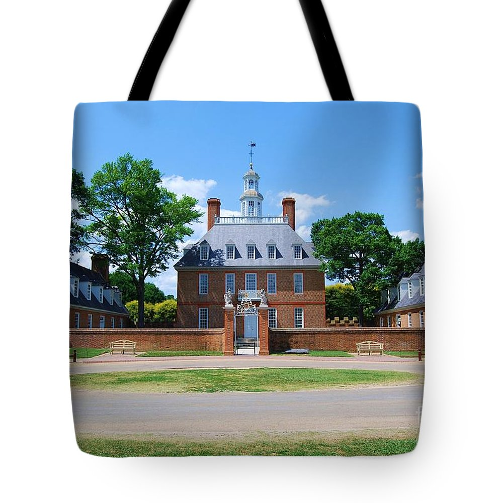 Landscape Tote Bag featuring the photograph Mansion by Eric Liller