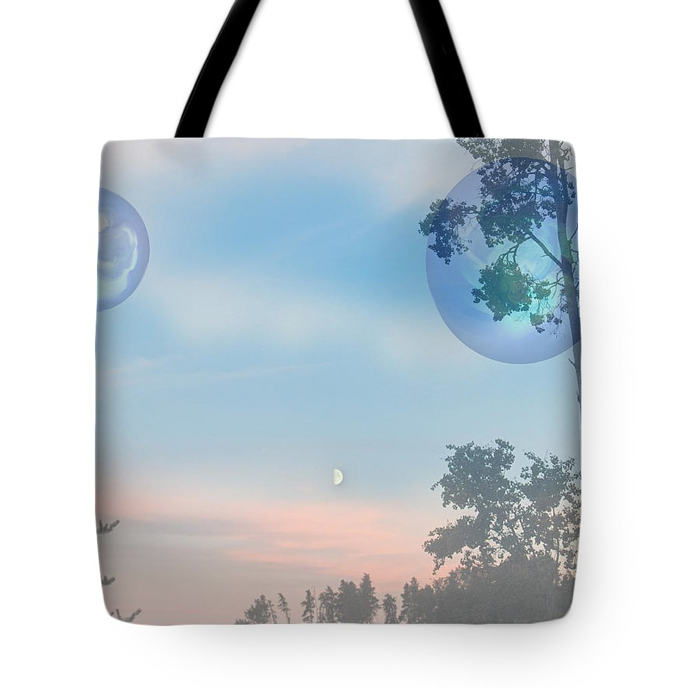 Moon Tote Bag featuring the photograph Many Moons by Andrea Lawrence