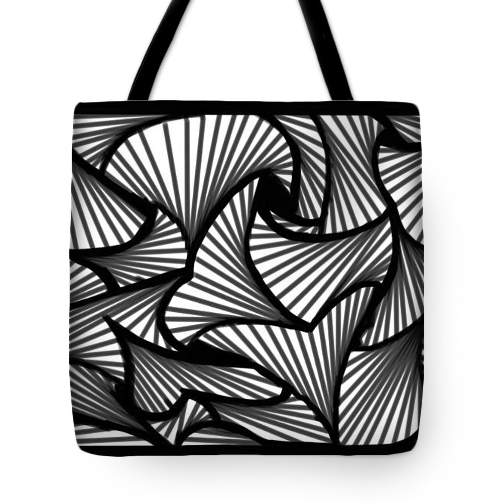 Tote Bag featuring the painting Many Roads by Jeanie Goins