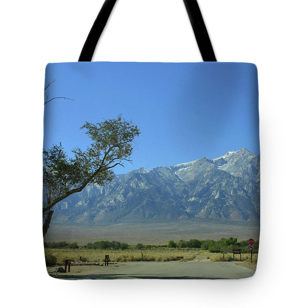 California Tote Bag featuring the photograph Manzanar 1 by Tommy Anderson