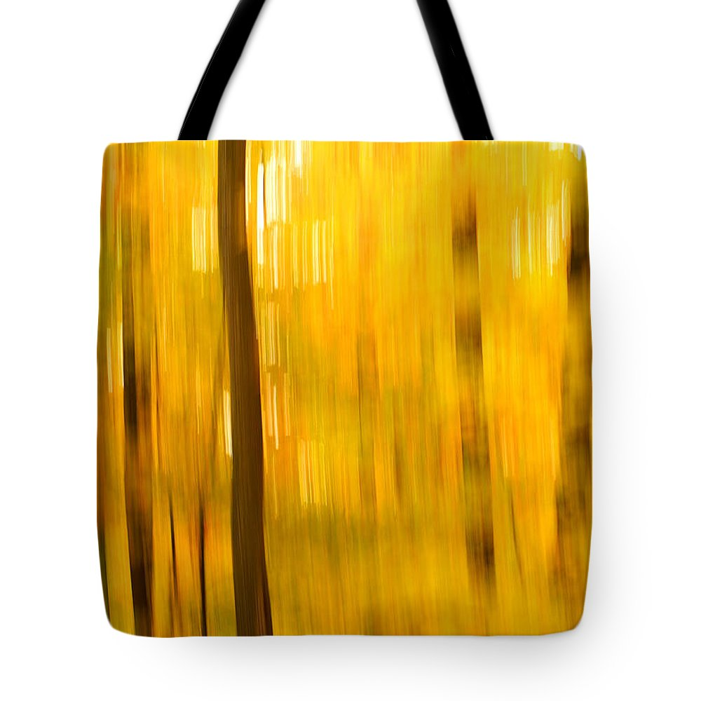 Abstract Photo Tote Bag featuring the photograph Maple Magic by Bill Morgenstern