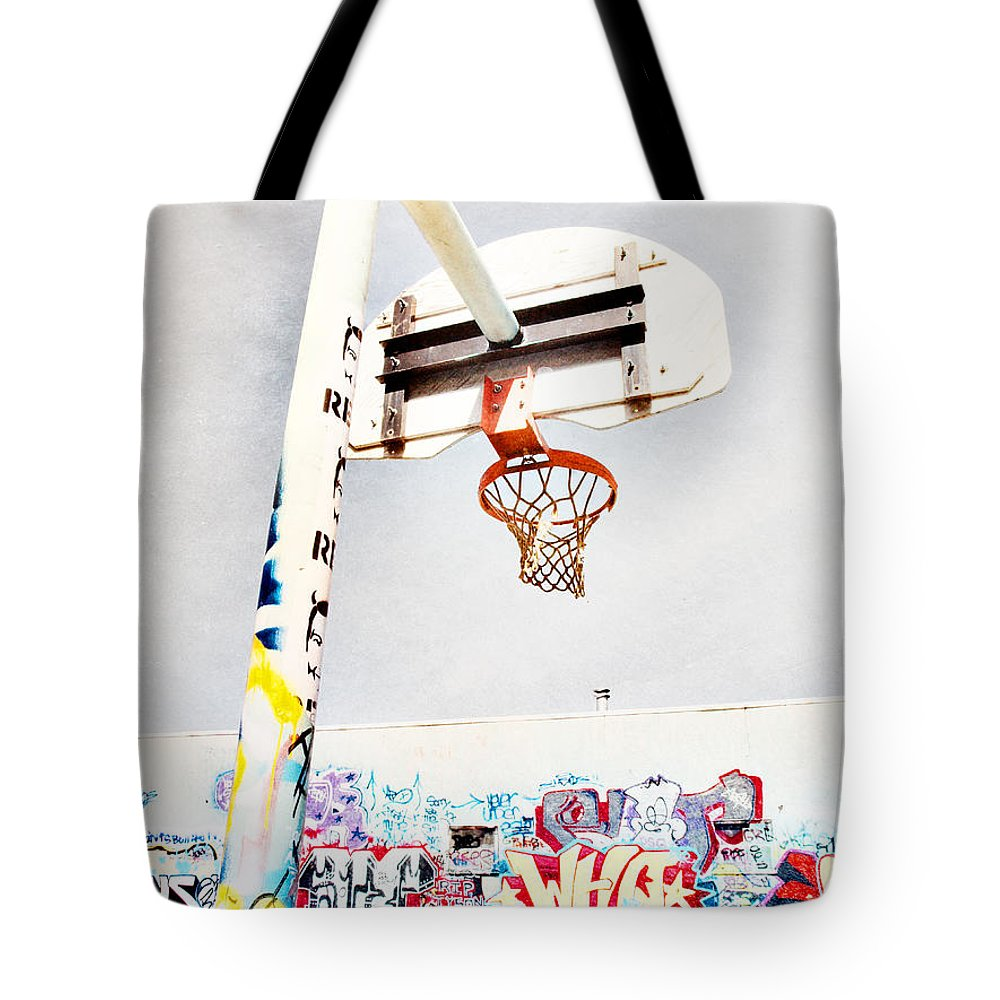 Basketball Tote Bag featuring the photograph March 23 2010 by Tara Turner