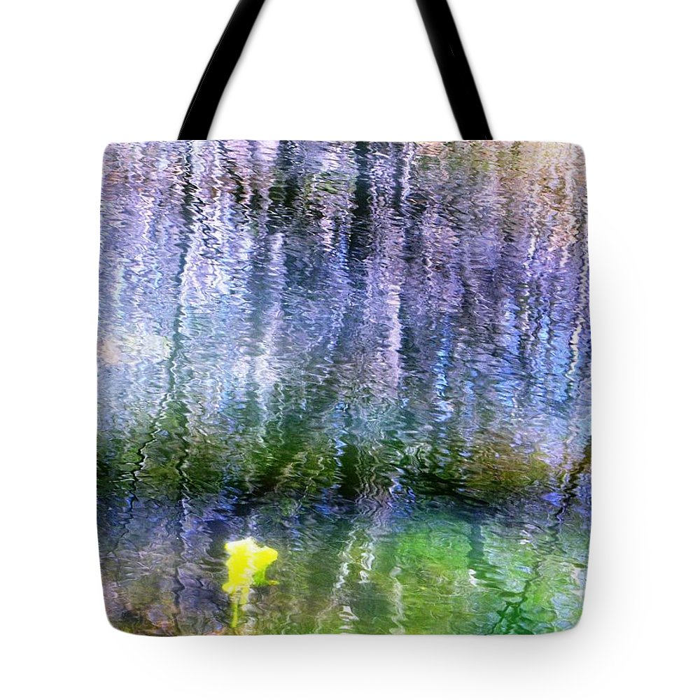 Tote Bag featuring the photograph March Pond by Melissa Stoudt