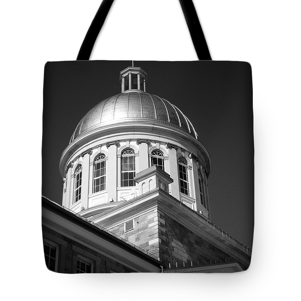 North America Tote Bag featuring the photograph Marche Bonsecours by Juergen Weiss