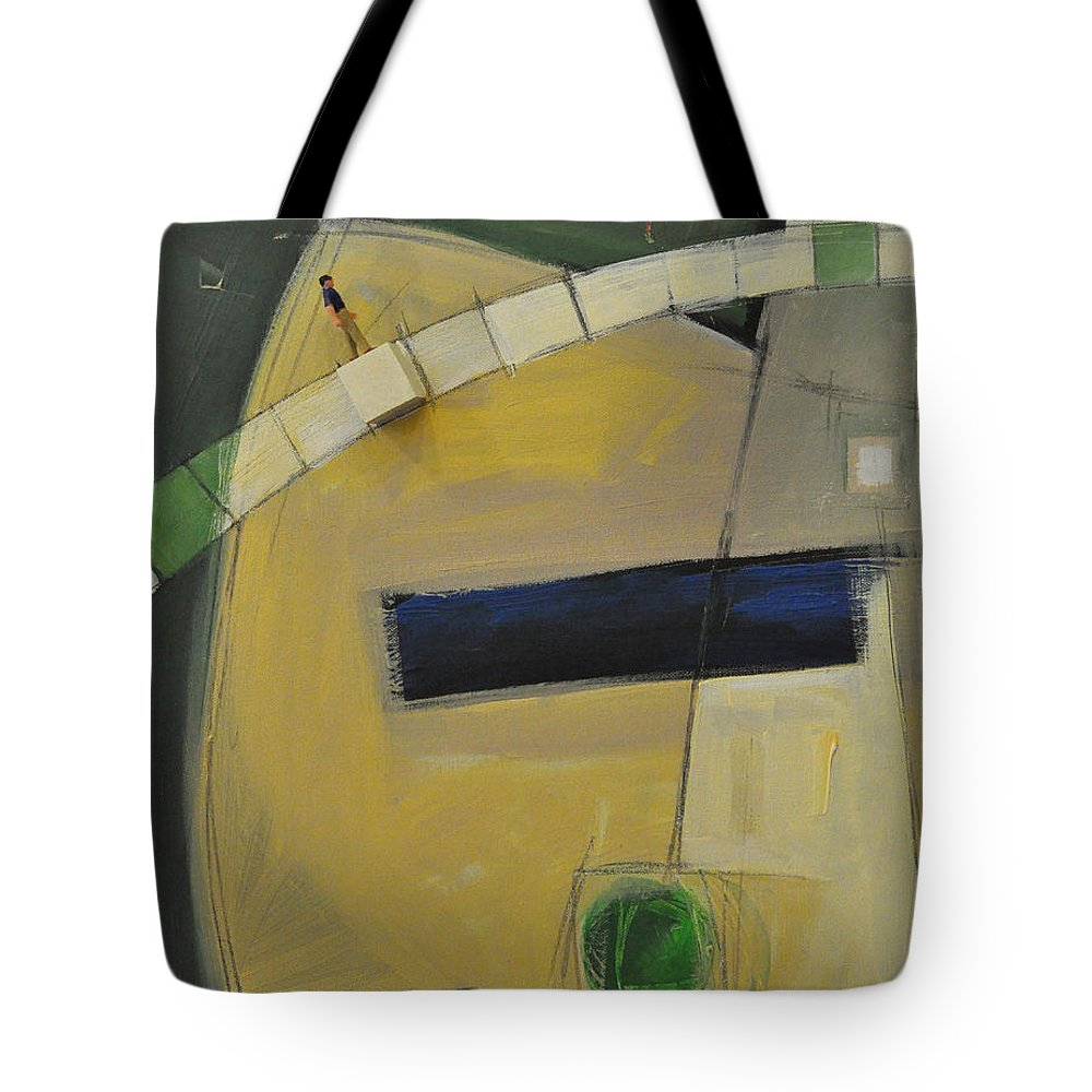 Marching Orders Tote Bag featuring the painting Marching Orders - Dna by Tim Nyberg
