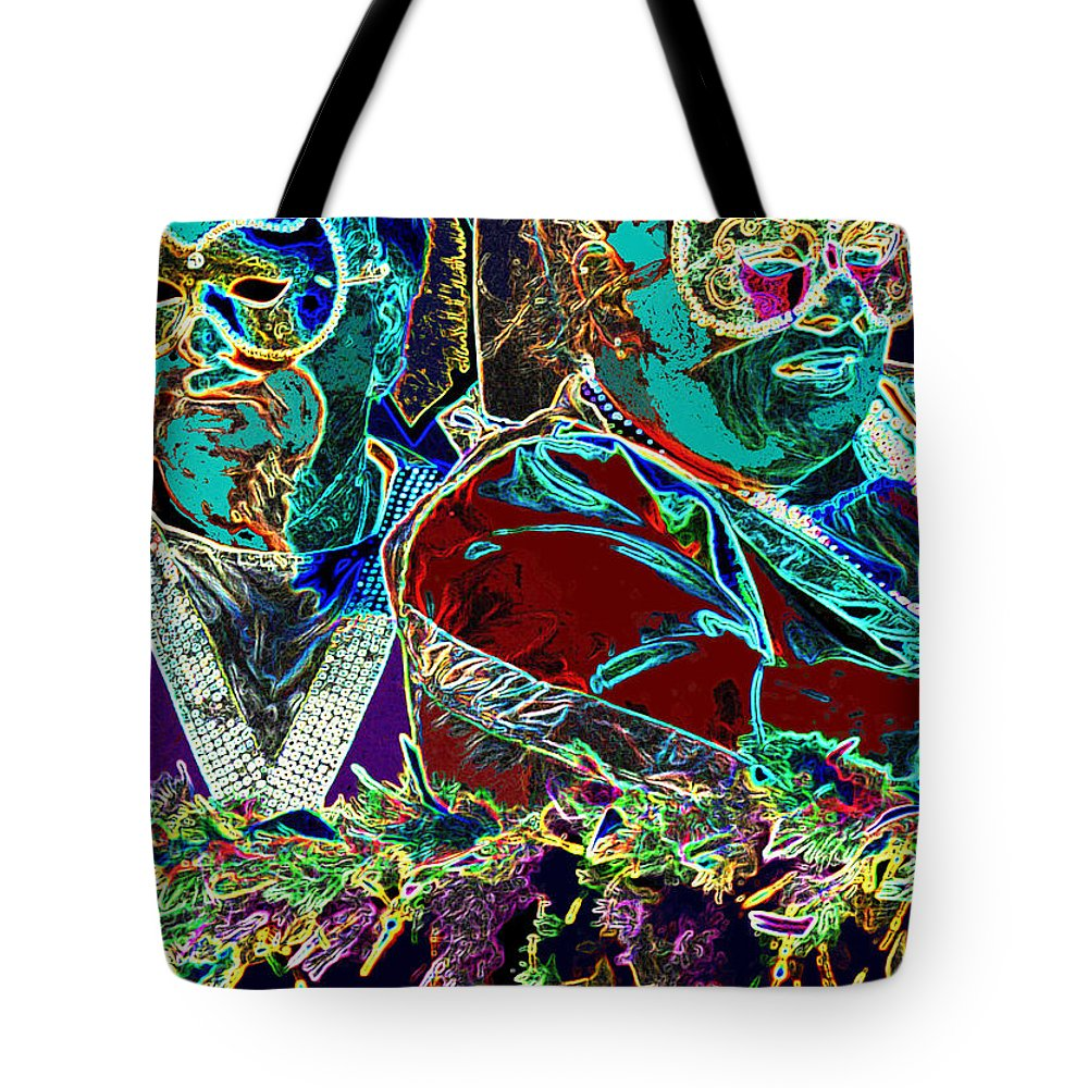 Mardi Gras Tote Bag featuring the photograph Mardi Gras by Ian MacDonald