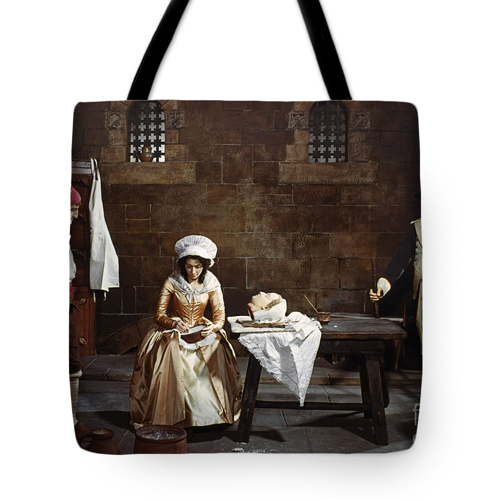 1793 Tote Bag featuring the photograph Marie Tussaud (1760-1850) by Granger