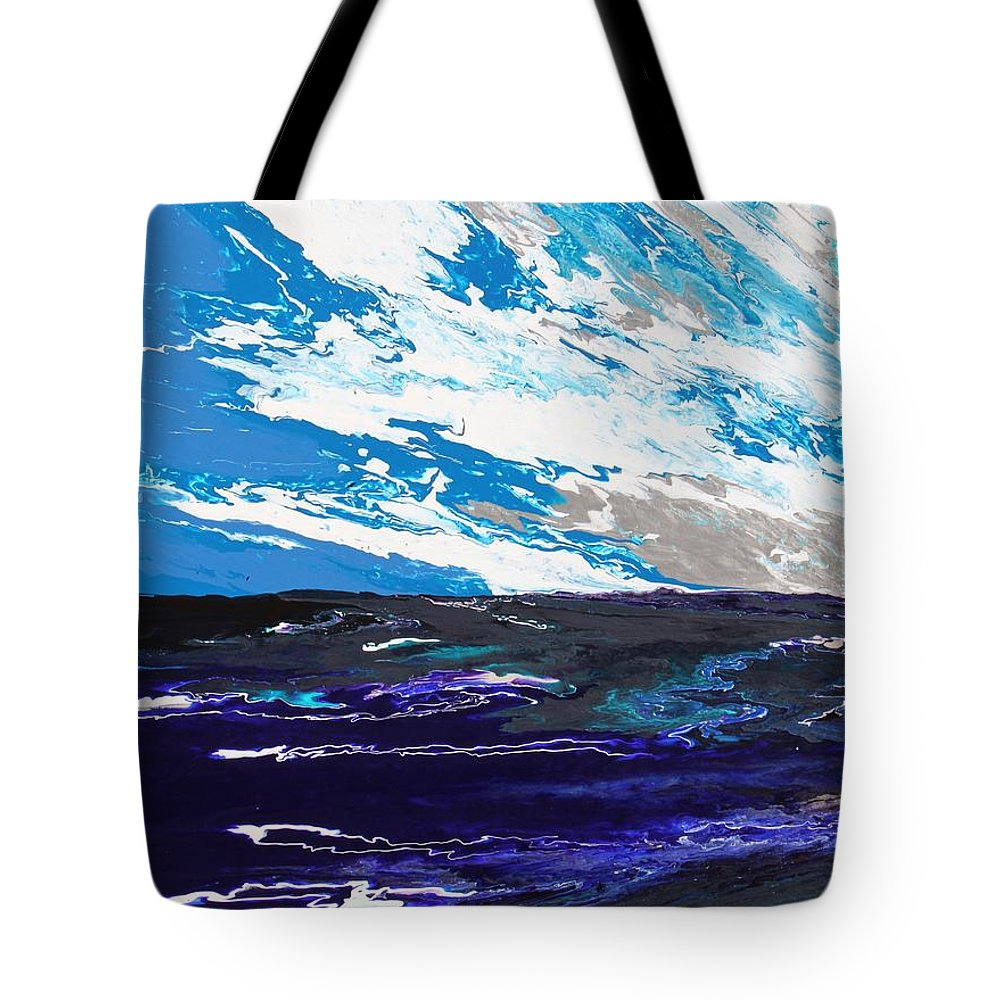 Fusionart Tote Bag featuring the painting Mariner by Ralph White