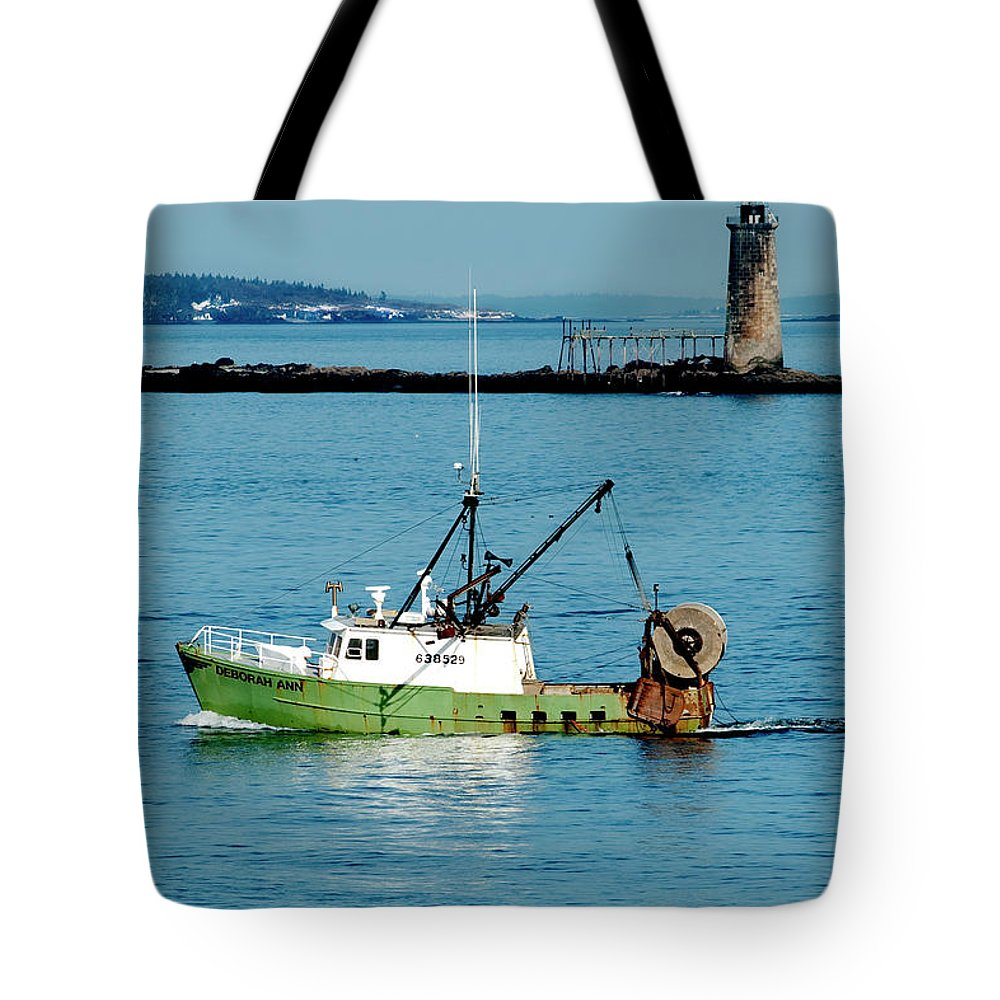 Coast Tote Bag featuring the photograph Maritime by Greg Fortier