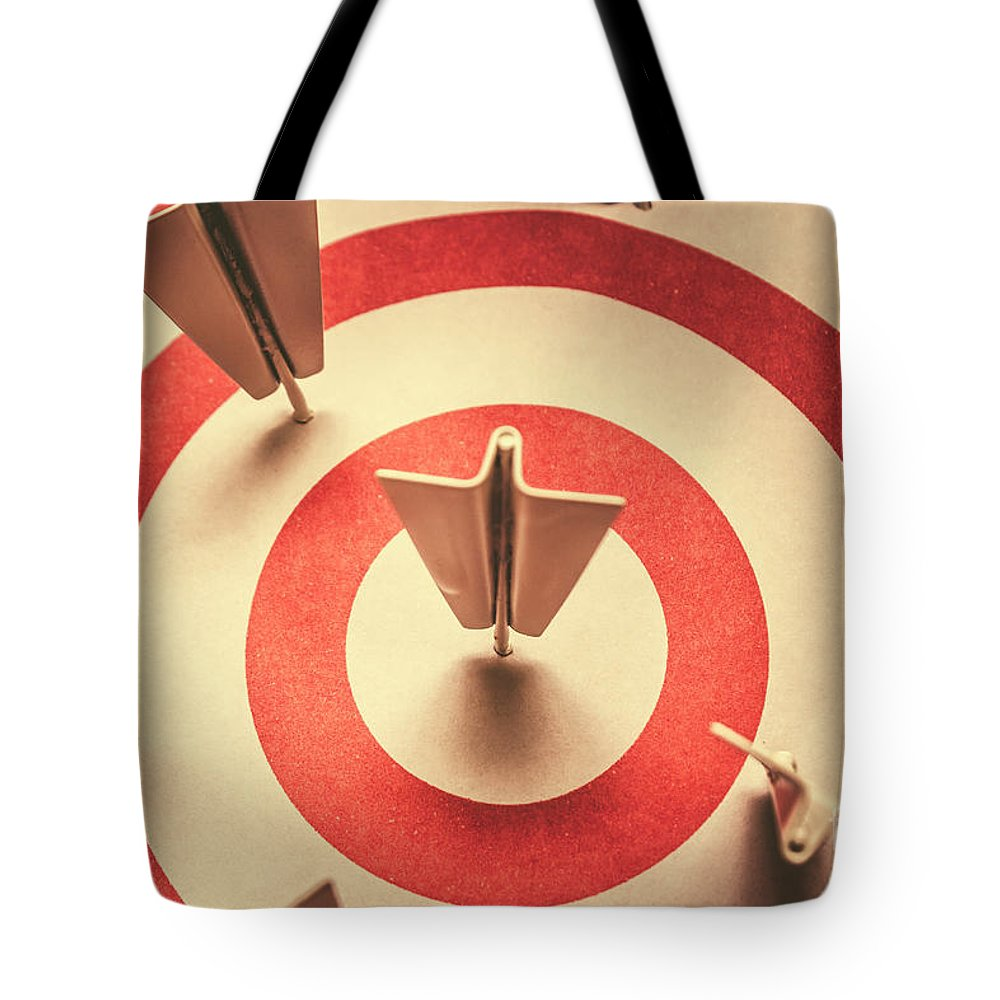 Target Tote Bag featuring the photograph Marketing Your Target Market by Jorgo Photography - Wall Art Gallery