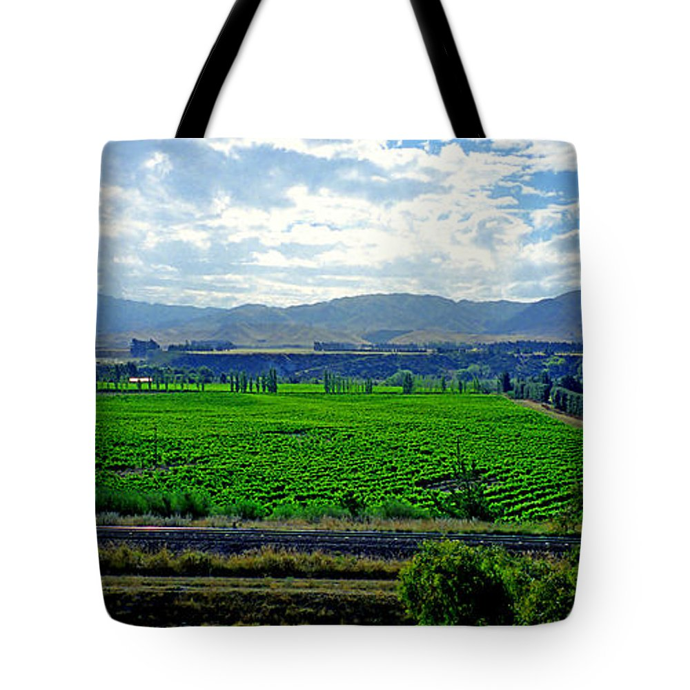 Marlborough Tote Bag featuring the photograph Marlborough Wine Country by Kevin Smith