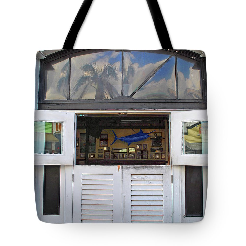 Sloppy Tote Bag featuring the photograph Marlin Joes by Jost Houk