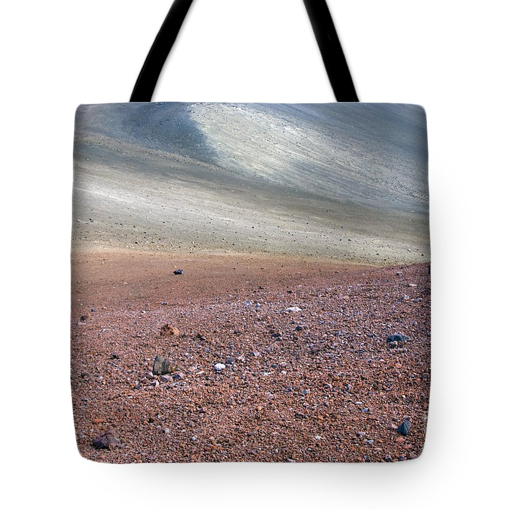 Abstract Tote Bag featuring the photograph Mars by Carl Ellis