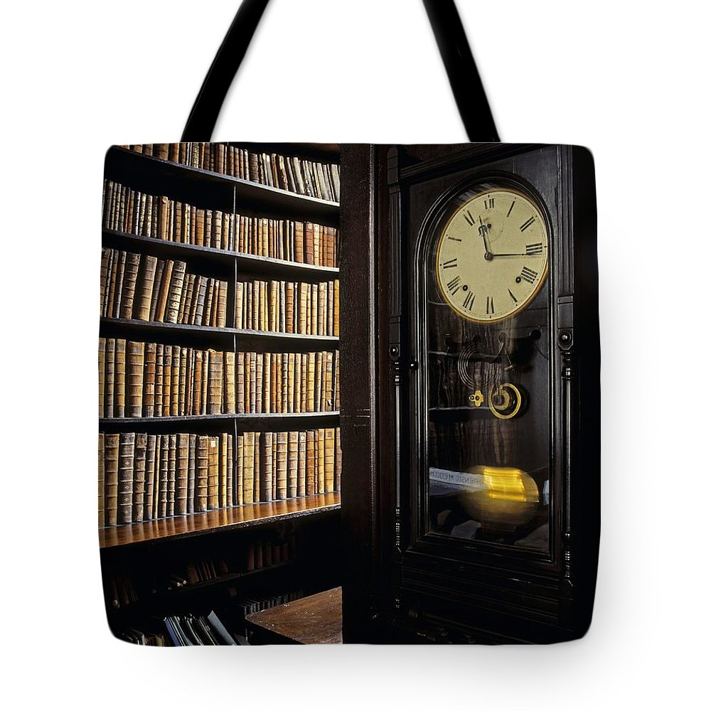 Book Tote Bag featuring the photograph Marshs Library, Dublin City, Ireland by The Irish Image Collection