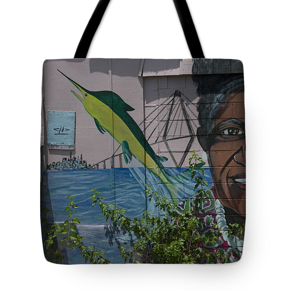 Martha Lou's Kitchen Tote Bag featuring the photograph Martha Lou's Kitchen by Dale Powell