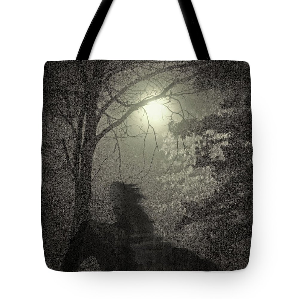 Landscape Tote Bag featuring the photograph Martha by Steve Karol