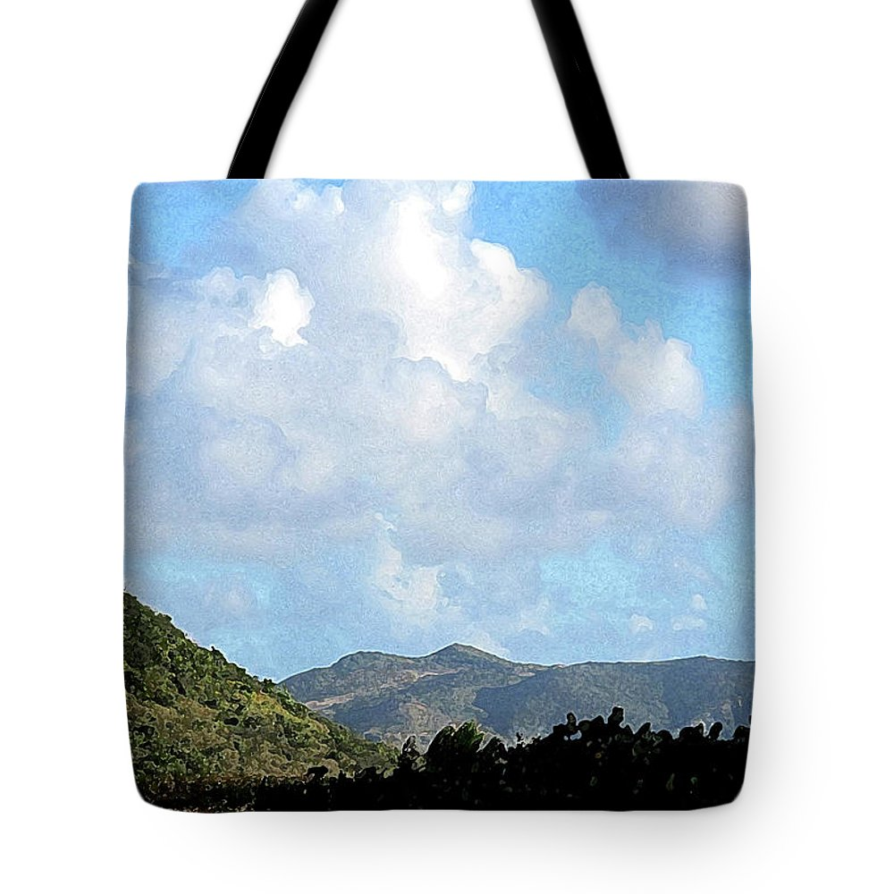 Clouds Tote Bag featuring the photograph Marvellous Clouds by Ian MacDonald