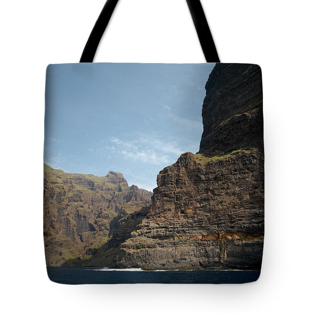Valasretki Tote Bag featuring the photograph Masca Valley Entrance 1 by Jouko Lehto
