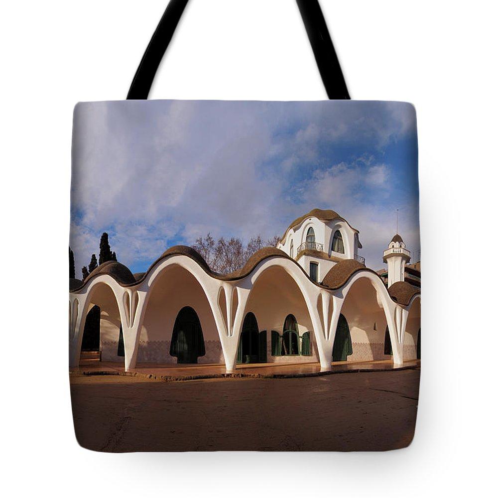Spain Tote Bag featuring the photograph Masia Freixa, Terrassa, Spain by Karol Kozlowski