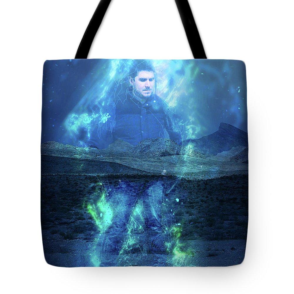 Tote Bag featuring the digital art Matrioshka Dream by Jay Salton