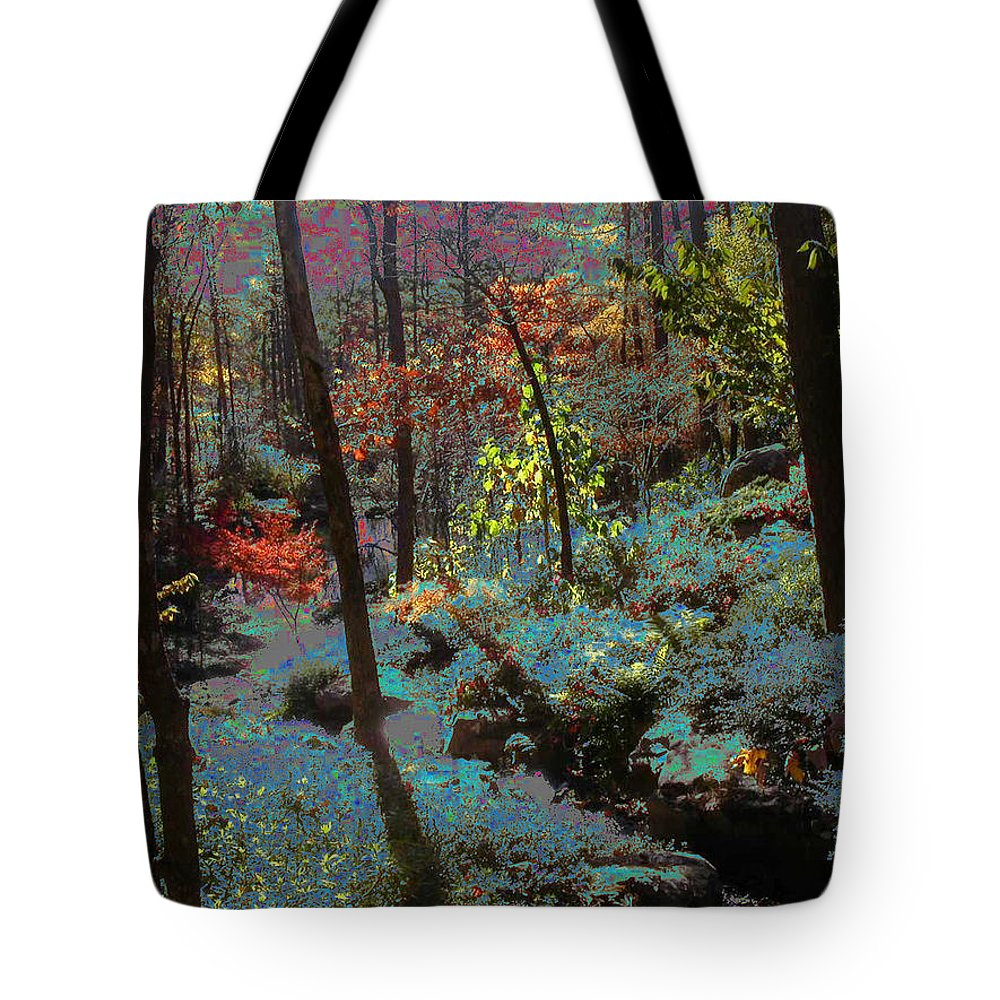 Maxfield Parrish Tote Bag featuring the photograph Maxfield Parrish Moment by Anne Cameron Cutri