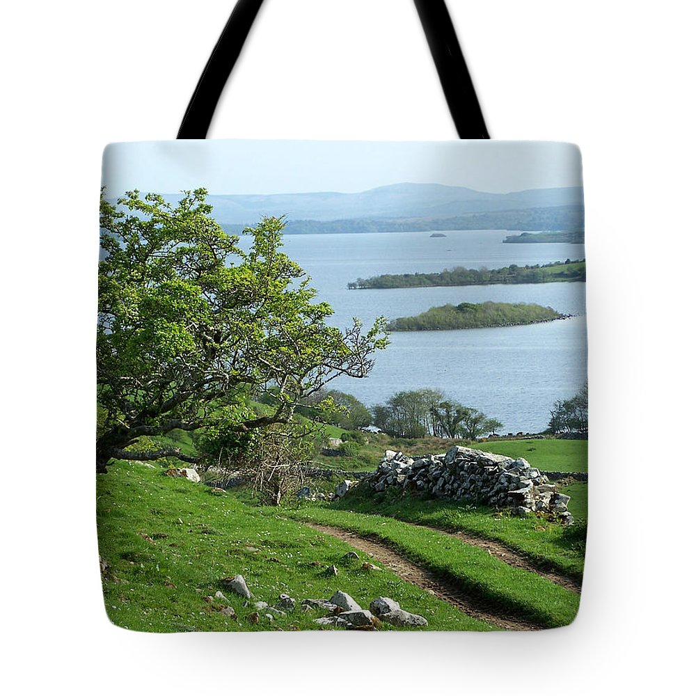 Ireland Tote Bag featuring the photograph May The Road Rise To Meet You by Teresa Mucha
