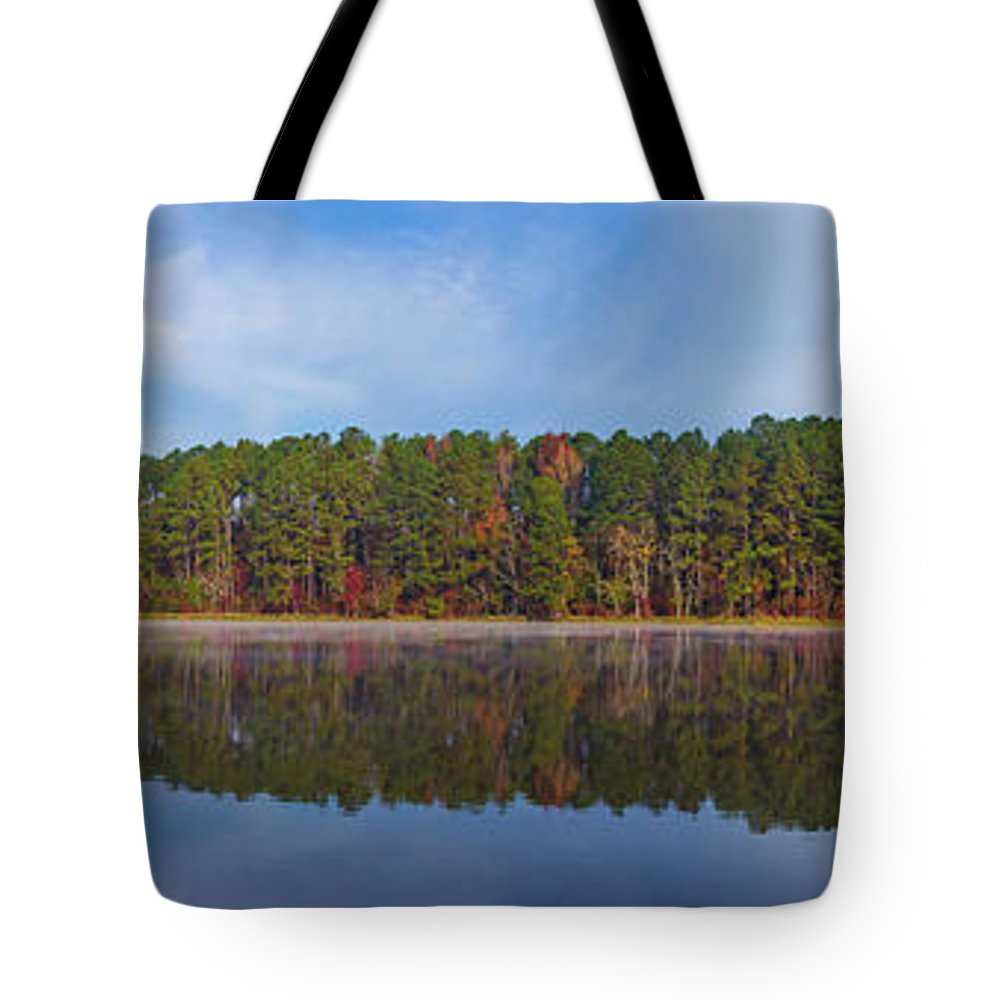 2017 Tote Bag featuring the photograph Mayor's Pond, Autumn, #3 by Gregory Schultz