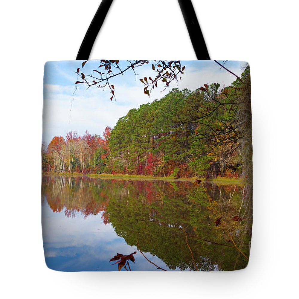 2017 Tote Bag featuring the photograph Mayor's Pond, Autumn, #7 by Gregory Schultz