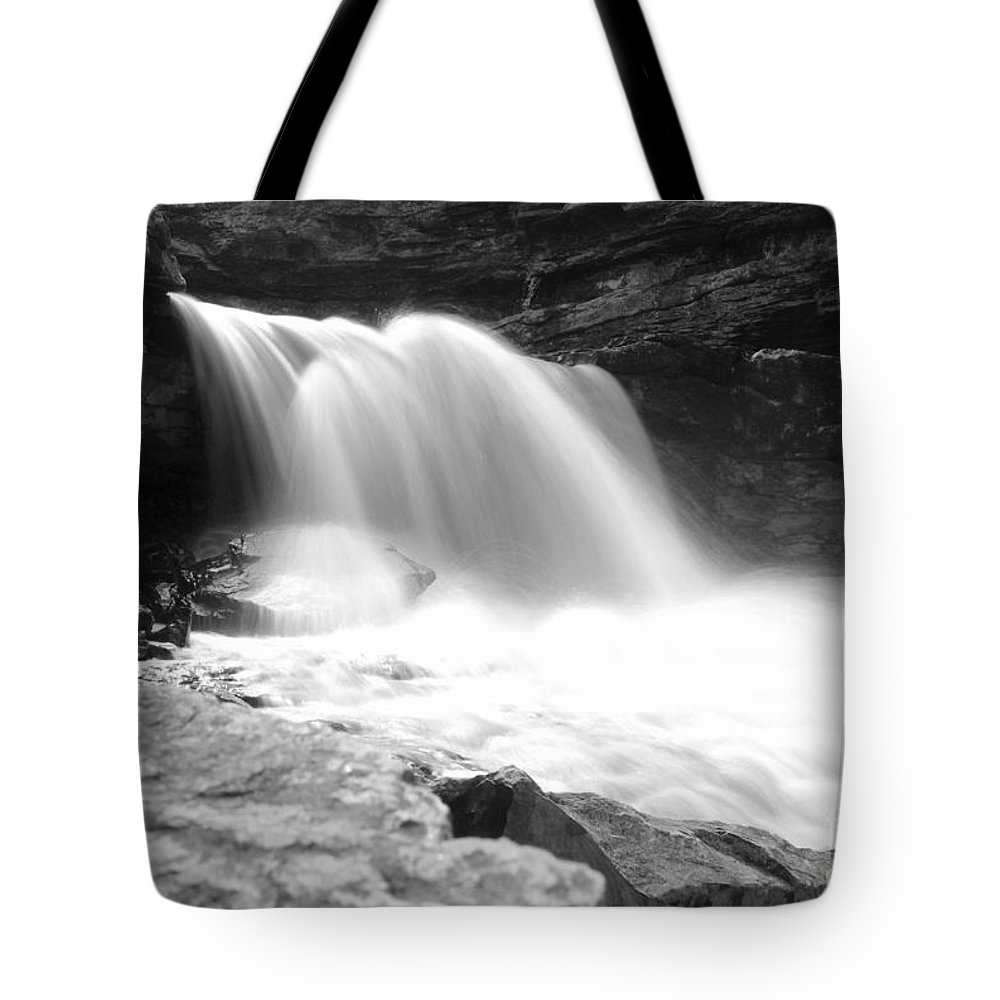 Tote Bag featuring the photograph Mccormick's Creek Waterfall by Kitrina Arbuckle