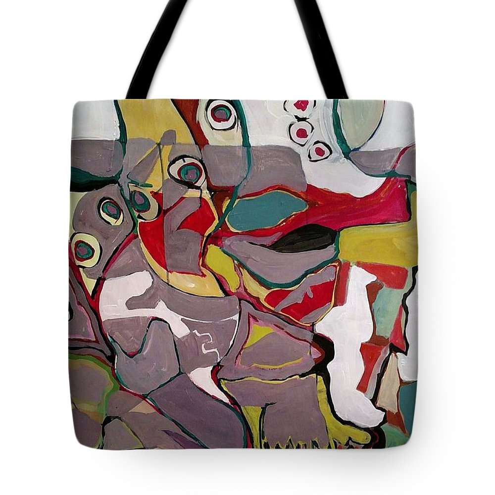Tote Bag featuring the painting Medici Gardens by Susan Price