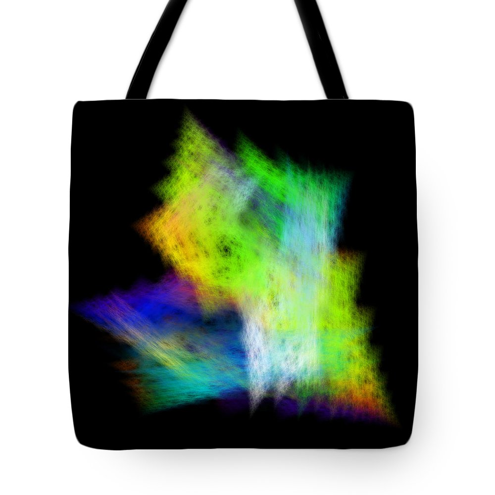 Abstract Tote Bag featuring the digital art Medictates by Andrew Kotlinski
