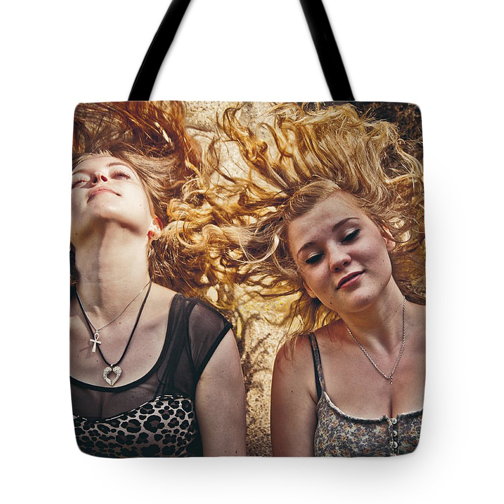 Loriental Tote Bag featuring the photograph Medusae by Loriental Photography