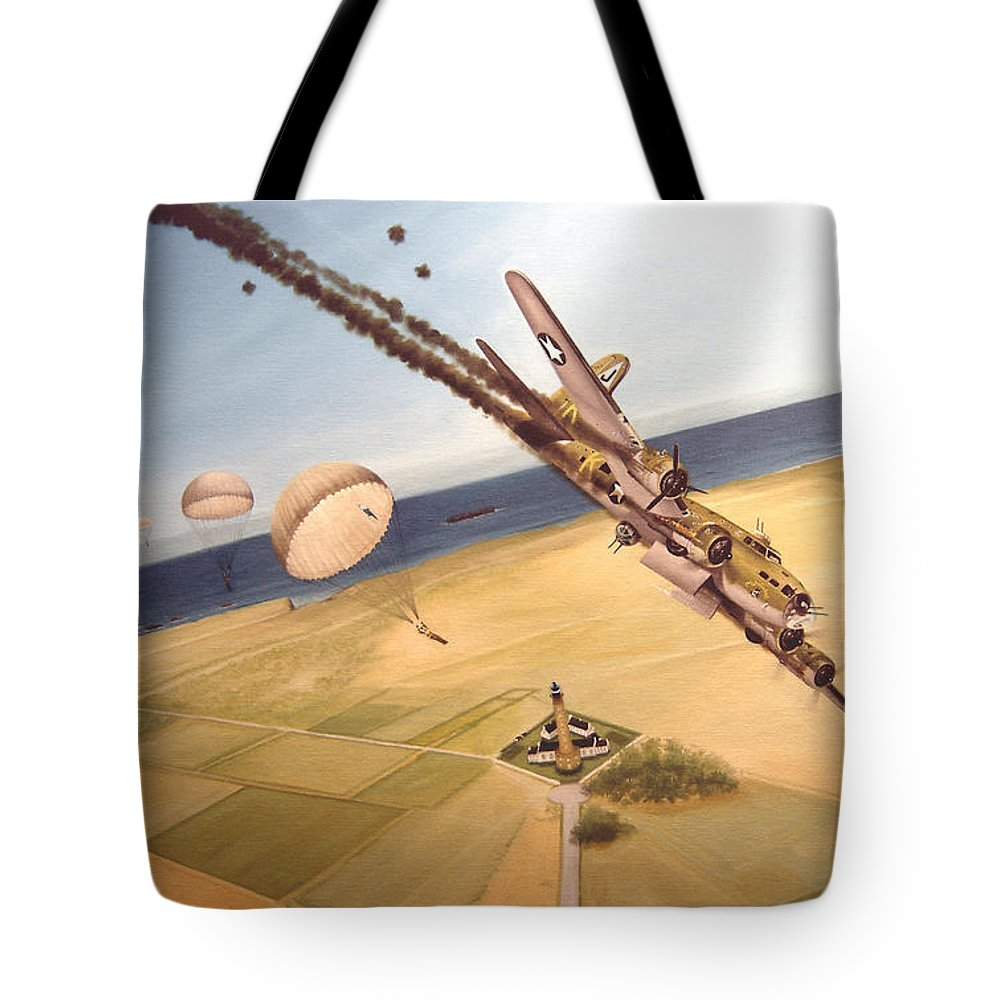 Aviation Tote Bag featuring the painting Mehitabel by Marc Stewart