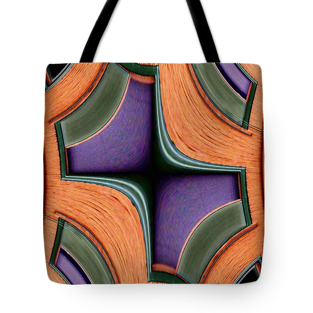Windows Tote Bag featuring the photograph Melded Windows by Tim Allen