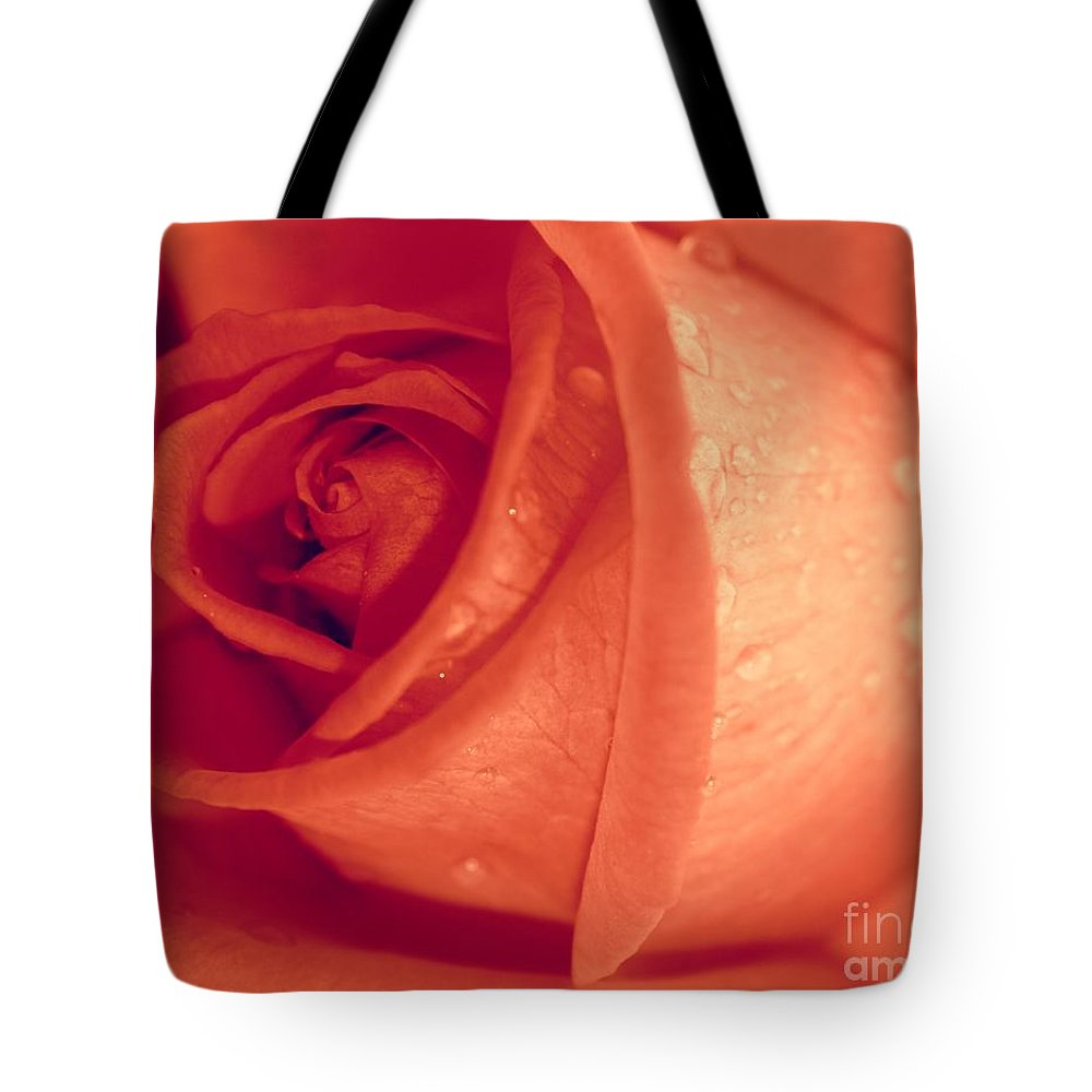 Rose Tote Bag featuring the photograph Mellow by Clare Bevan