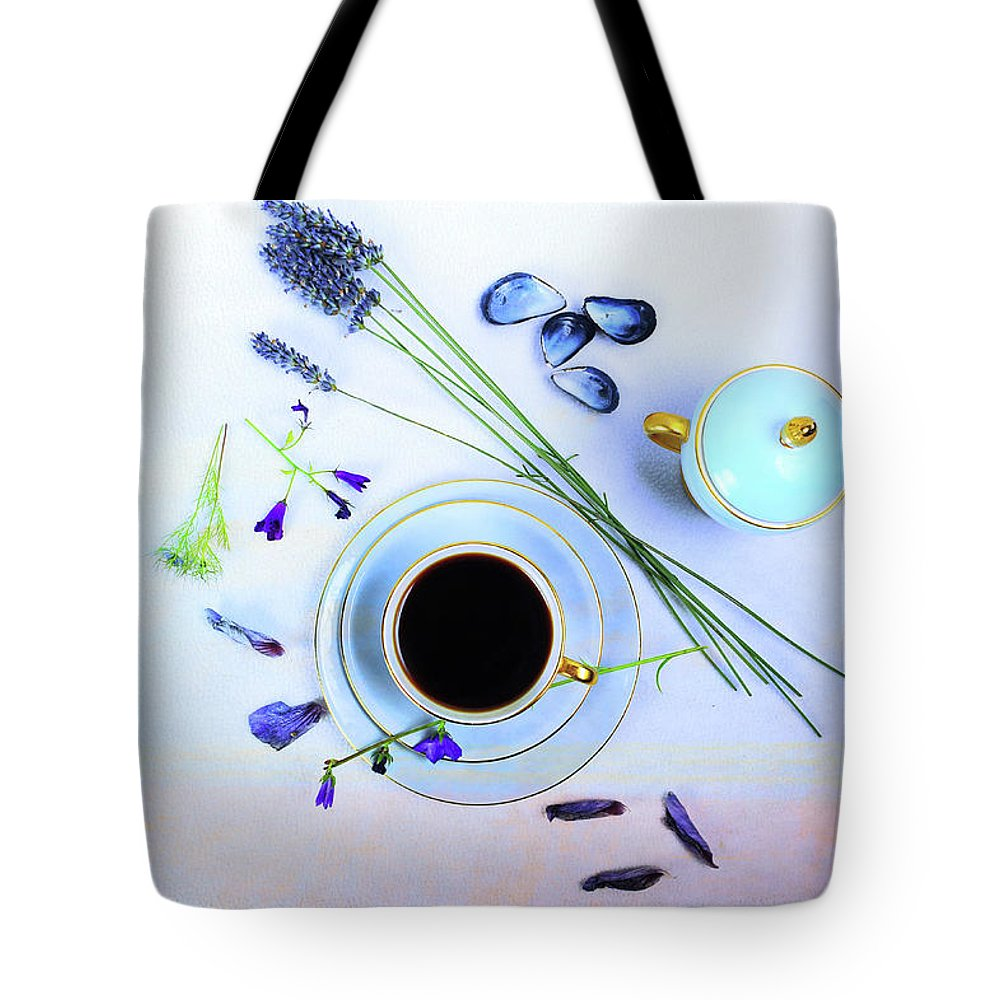 Cafe Tote Bag featuring the photograph Memories And Coffee by Randi Grace Nilsberg