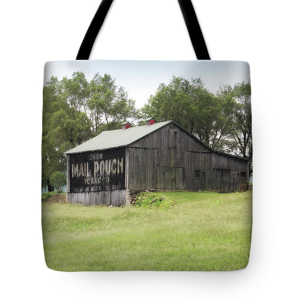 Barn Tote Bag featuring the photograph Memories Fading by Tammy Sullivan