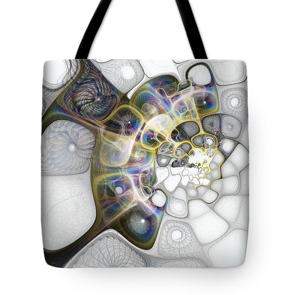 Digital Art Tote Bag featuring the digital art Memories II by Amanda Moore