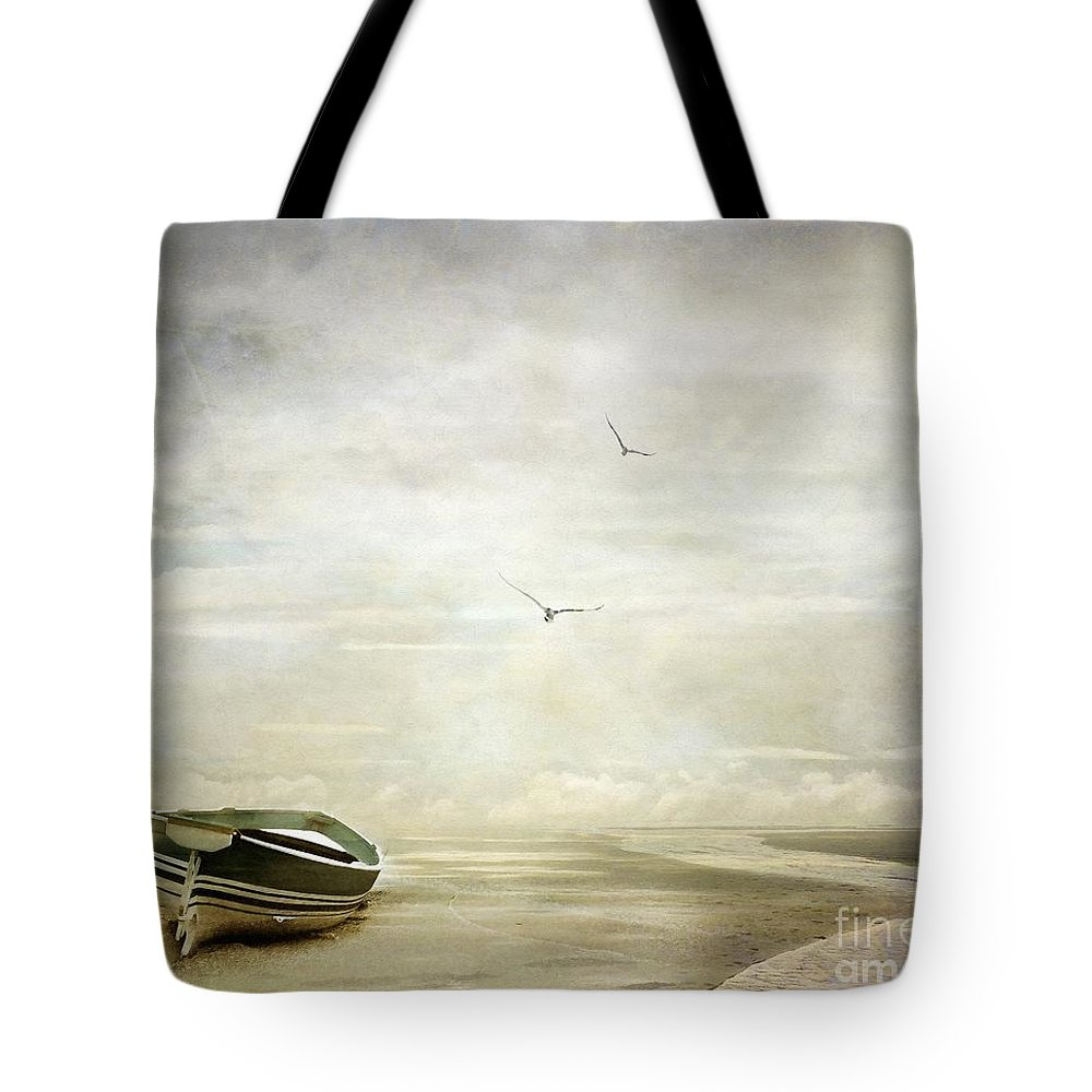 Beach Tote Bag featuring the photograph Memories by Jacky Gerritsen