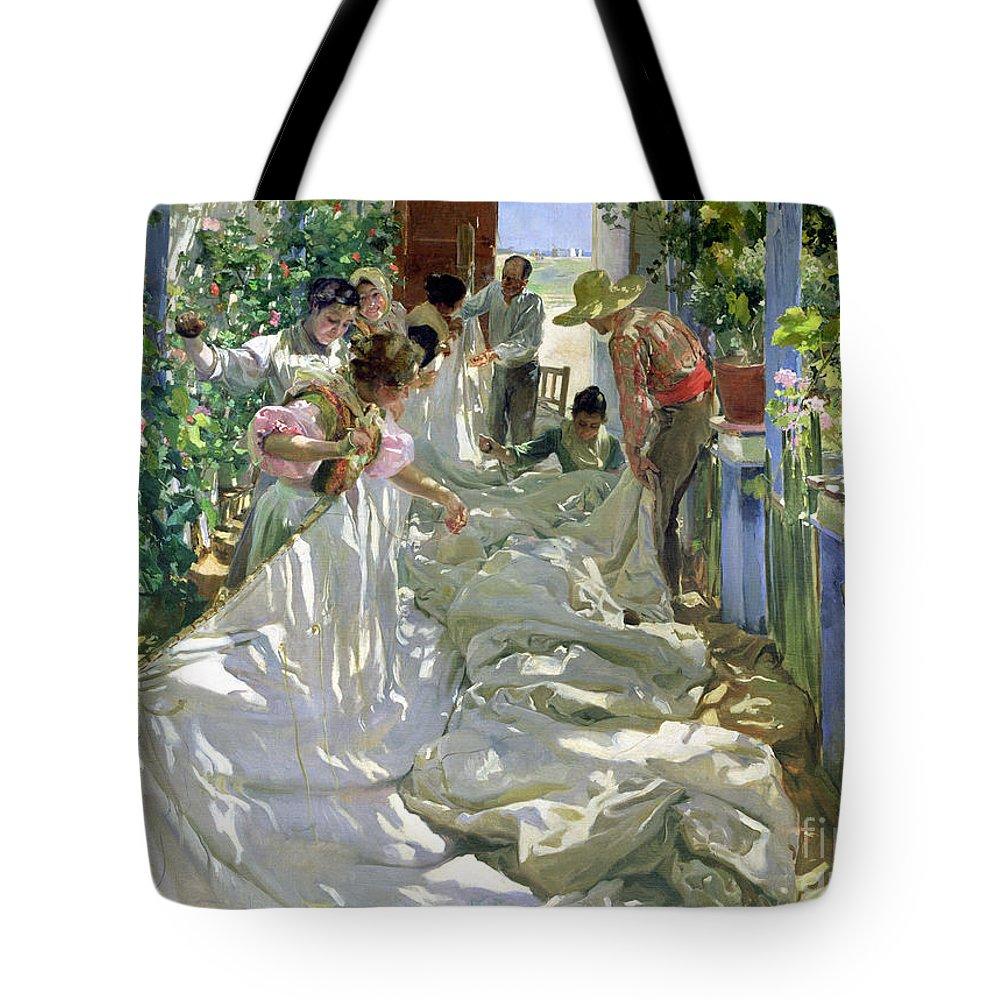 Geraniums Tote Bags