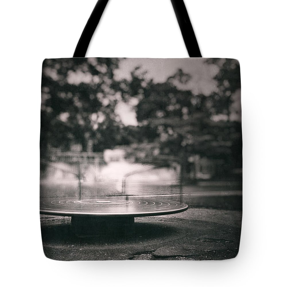 Merry Go Round Tote Bags