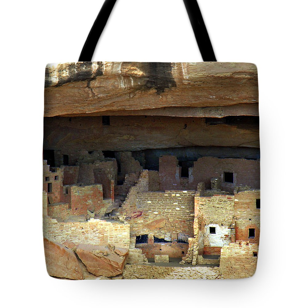 Americana Tote Bag featuring the photograph Mesa Verde by Marilyn Hunt